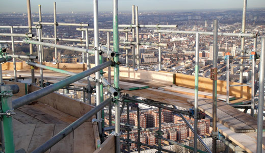 Scaffolding design by Zenith Strutural Access Solutions